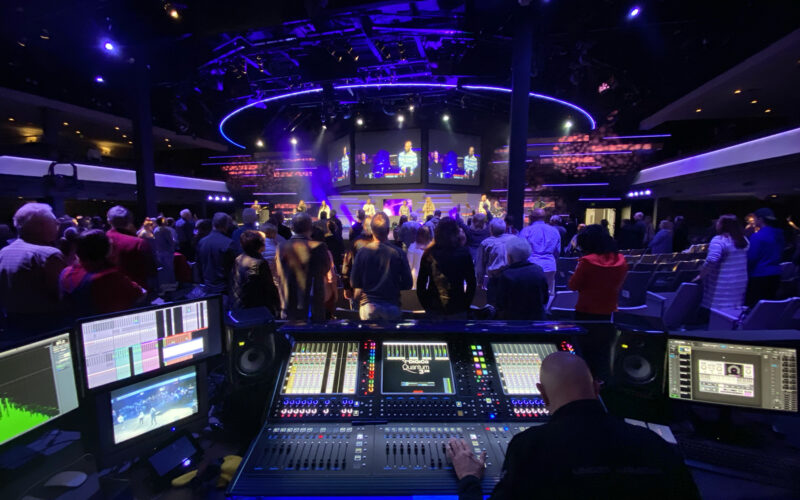Living Word Christian Center now has a new DiGiCo Quantum338 console