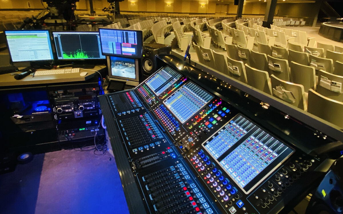 Living Word Christian Center's Services Come Alive on New DiGiCo Quantum338