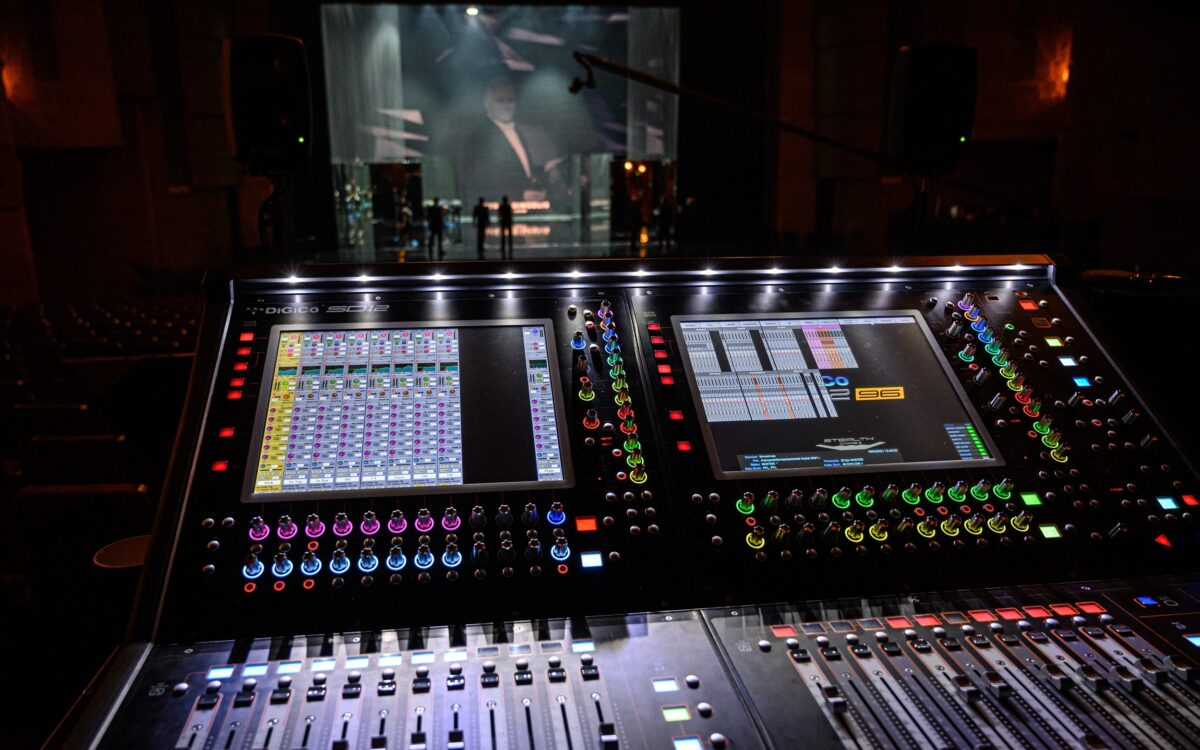 DiGiCo delivers exceptional sound at Golden Stage Cross Awards in celebration of World Theatre Day 2021