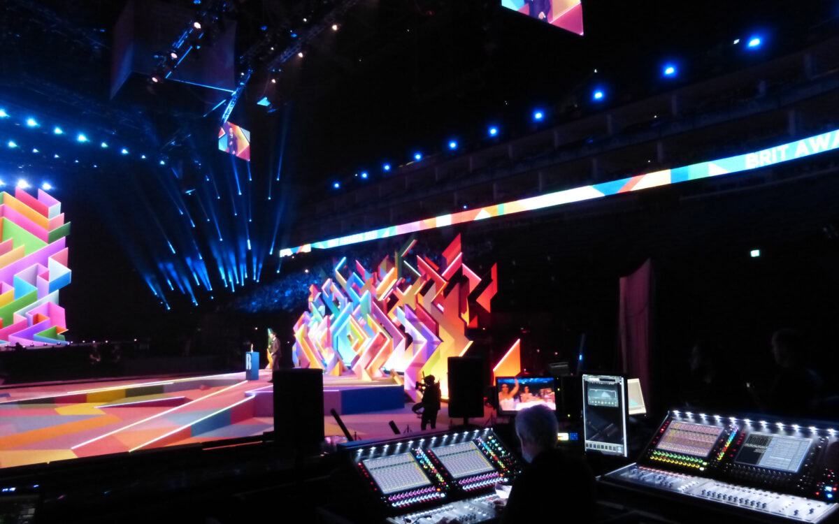 DiGiCo Quantum7s sing out at historic BRITS 2021