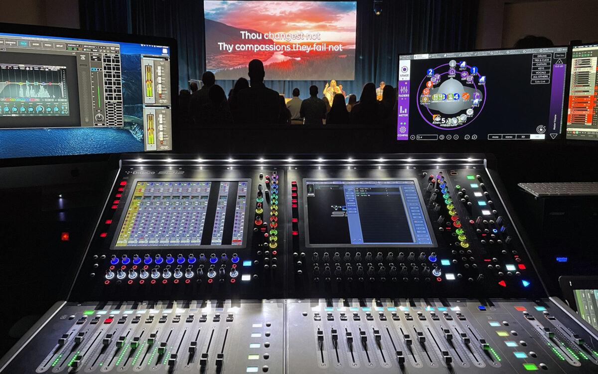 DiGiCo & KLANG Empower Musicians and Vocalists at Watkinsville First Baptist Church