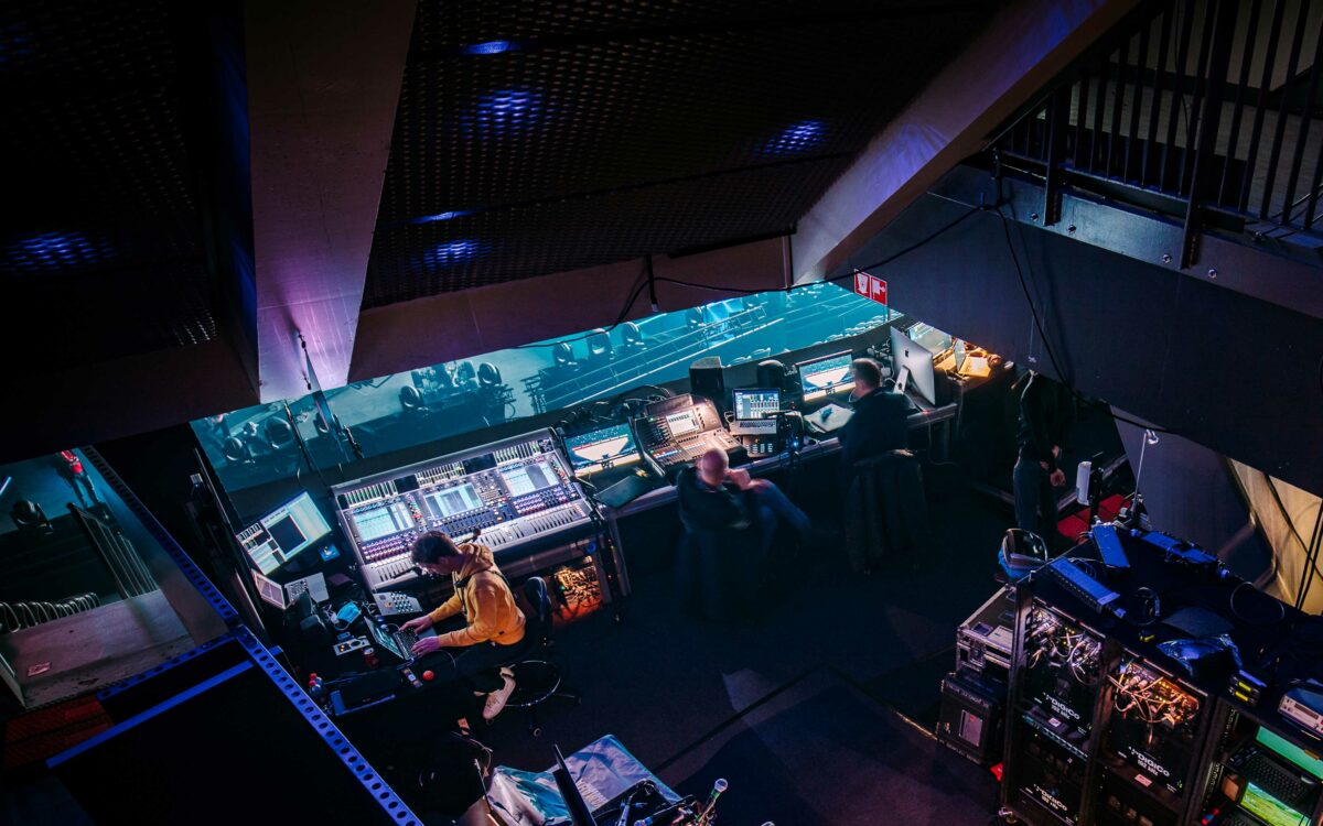 Eurovision 2021 safe and secure with DiGiCo Quantum 7s
