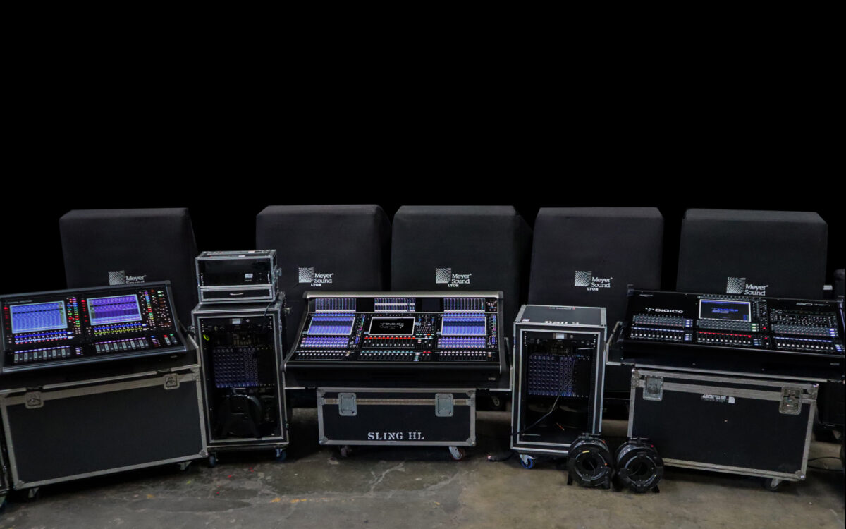 ELECTRONICA 2001 invests in first DiGiCo Quantum 7 in Central America