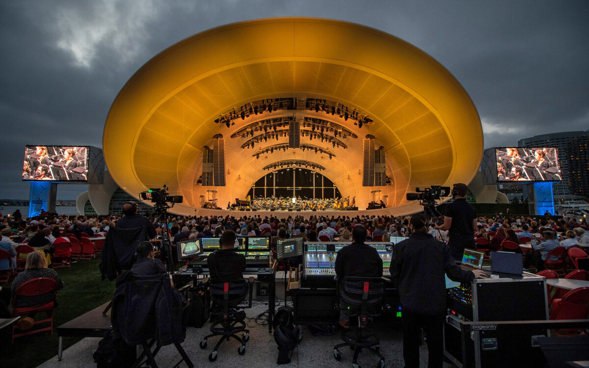 DiGiCo is the Pearl at the Heart of the Rady Shell at Jacobs Park The San Diego Symphony's Stunning New Outdoor Home on the Bay