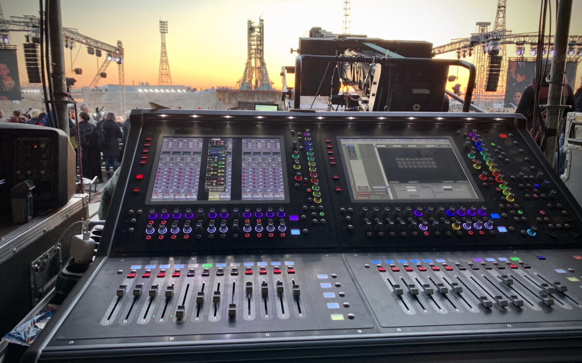 """""""Let's go!"""" – DiGiCo deployed at 60th Anniversary of World's First Space Flight from Baikonur"""