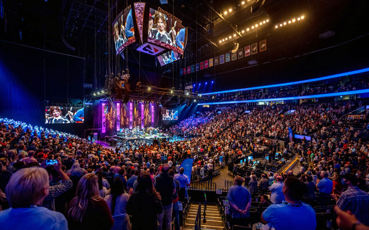 DiGiCo SD-Range Consoles Assure That The Sing! Global 2021 Getty Music Worship Conference Went Pitch Perfect