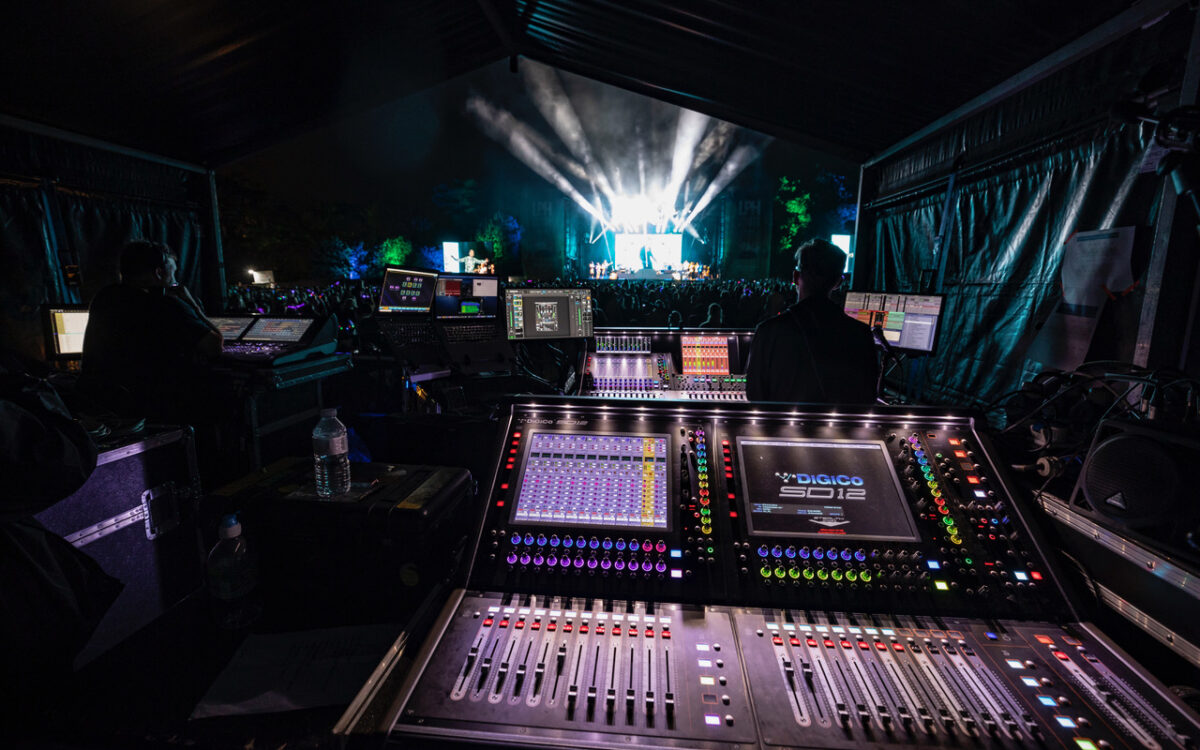 DiGiCo SD12 does it all for Ethix